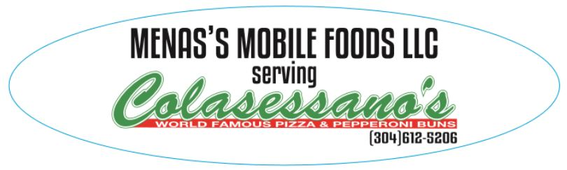 Mena's Mobile Foods LLC serving Colasessano's